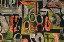 Úplet zelenohnědý, číslice š.150