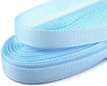 Stuha taftová modrá, šírka 9mm, 10m