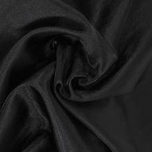 Podšívka saténová čierna š.150