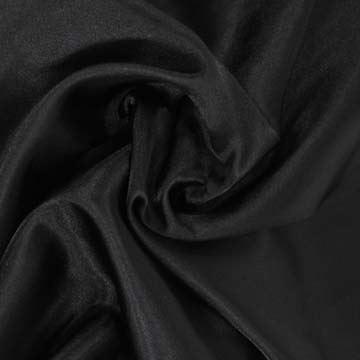 Podšívka saténová černá š.150