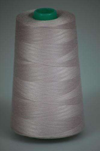 Niť KORALLI polyesterová 120, 5000Y, odtieň 3225, ružová-lila