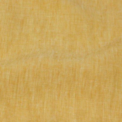 Len žlutý melange 19749, 180g/m, š.135