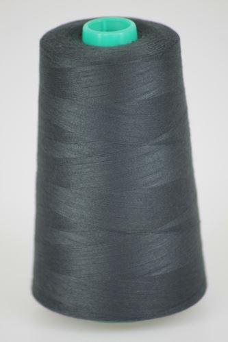 Niť KORALLI polyesterová 120, 5000Y, odtieň 9580, šedá