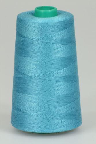 Niť KORALLI polyesterová 120, 5000Y, odtieň 5725, modrá