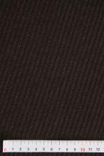 Kabátovina hnědá,  diagonální vzor, š.150