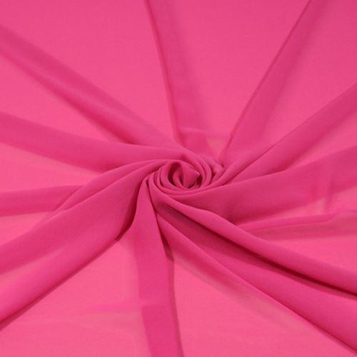 Šifón ružový, š.145