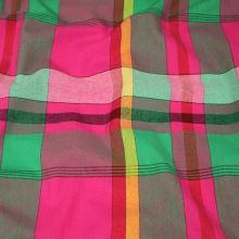 Kanafas, farebné káro 17081, š.140