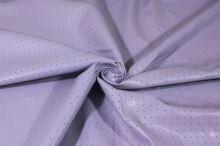 Koženka svetlo fialová, dierkový vzor, š.150