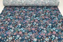 Šatovka modrá, barevné květy a listy, š.135
