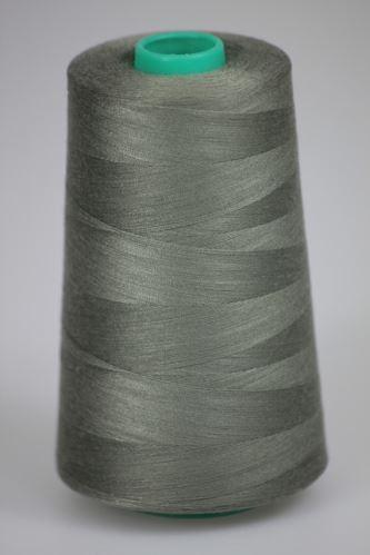 Niť KORALLI polyesterová 120, 5000Y, odtieň 7540, šedá