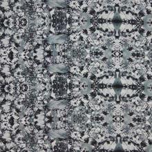Satén šedý, vzor š.145