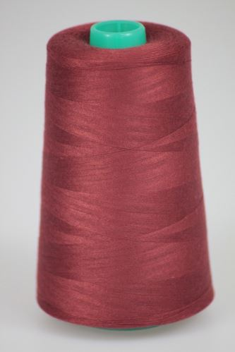 Niť KORALLI polyesterová 120, 5000, odtieň 2870, hnedá