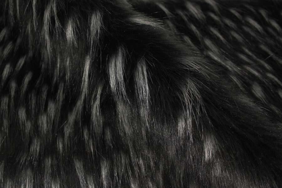 Umělá kožešina černá 9262590ad7