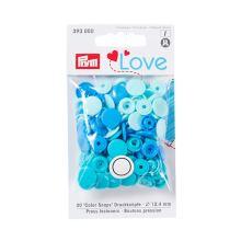 """Patentky Prym Love kulaté """"Color Snaps"""" 393000, 12,4 mm"""