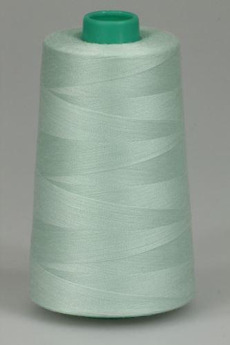 Niť KORALLI polyesterová 120, 5000, odtieň 6120, zelená