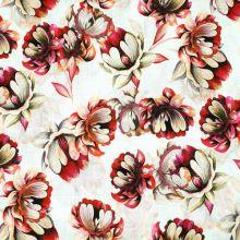 Šatovka biela, béžovo-červené kvety, š.145