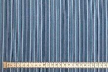 Košeľovina 06368, modrý pruh, š.130