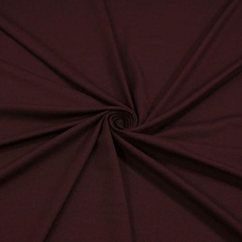 Úplet tmavě vínový 16238, 250g/m, š.155