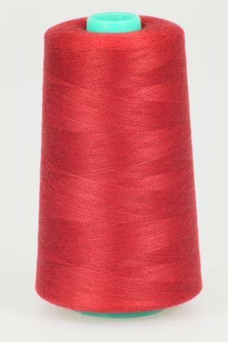 Niť KORALLI polyesterová 120, 5000Y, odtieň 2540, červená