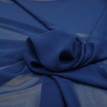 Šifon modrý P0124, š.150