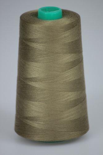 Nit KORALLI polyesterová 120, 5000Y, odstín 8275, šedá-zelená