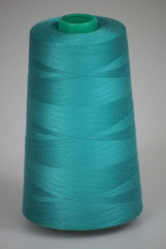 Niť KORALLI polyesterová 120, 5000Y, odtieň 5710, modrá