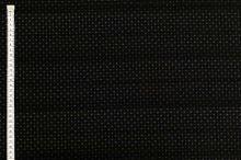 Košilovina 07752 černá, drobný vzor, pruhy š.145