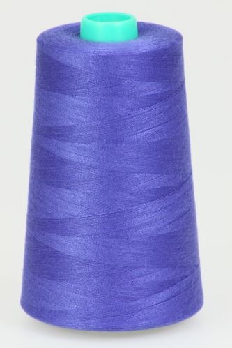 Niť KORALLI polyesterová 120, 5000, odtieň 5590, fialová-modrá