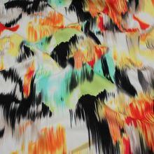 Bavlna farebný abstraktné vzor, š.145