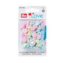 "Patentky Prym Love ozdobné ""Color Snaps"" 393030, 12,4 mm"