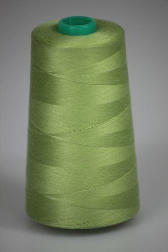 Niť KORALLI polyesterová 120, 5000Y, odtieň 6715, zelená
