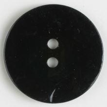 Knoflík perleťový černý 241112, 13mm