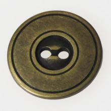 Knoflík mosazný K28-2, průměr 18mm.