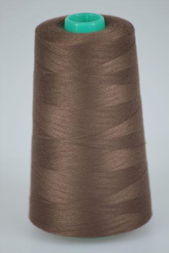 Nit KORALLI polyesterová 120, 5000Y, odstín 8540, hnědá