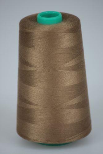 Nit KORALLI polyesterová 120, 5000Y, odstín 8430, béžová