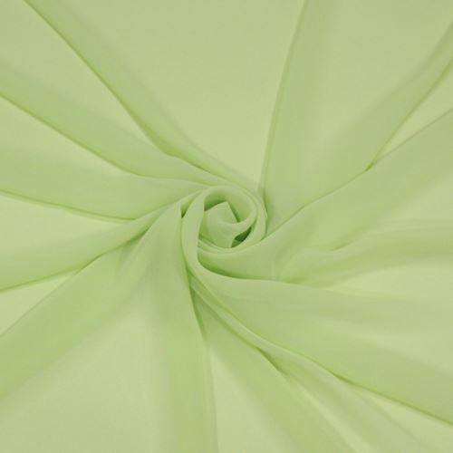 Šifon světle zelený BW392, š.145