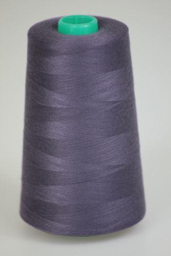 Niť KORALLI polyesterová 120Y, 5000, odtieň 4990, fialová