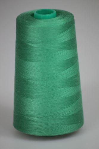 Nit KORALLI polyesterová 120, 5000Y, odstín 6245, zelená