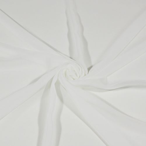 Šifón biely BW539, š.145