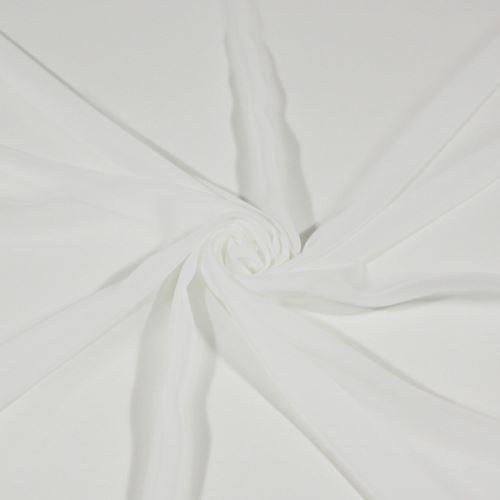 Šifon bílý BW539, š.145