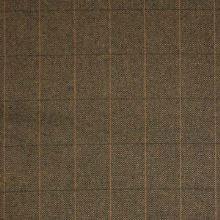 Kostýmovka hnědočerná káro š.150