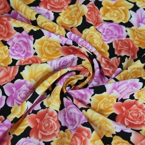 Šatovka kvety žlté, červené, fialové š.150