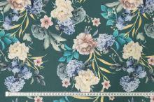 Šatovka zelená, barevné květy a listy, š.145