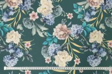 Šatovka zelená, farebné kvety a listy, š.145