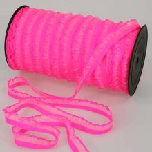 Pruženka volánková růžová, šíře 15mm