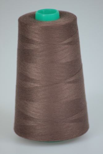 Nit KORALLI polyesterová 120, 5000Y, odstín 8350, hnědá