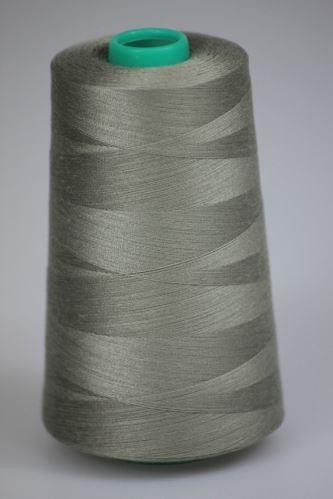 Niť KORALLI polyesterová 120, 5000, odtieň 7340, šedá