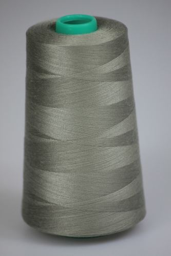 Niť KORALLI polyesterová 120, 5000Y, odtieň 7340, šedá