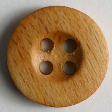 Knoflík dřevěný 221194, 18mm