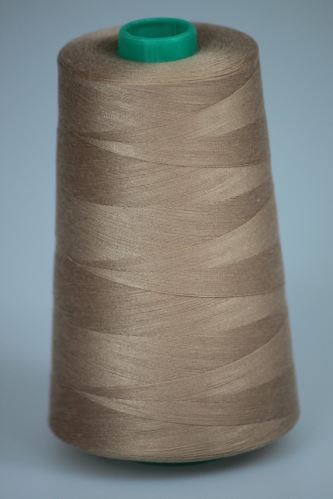 Nit KORALLI polyesterová 120, 5000Y, odstín 7245, béžová